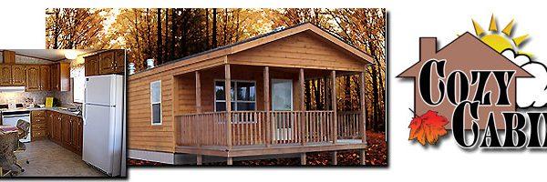 Cozy Cabin Model 402 (HM)